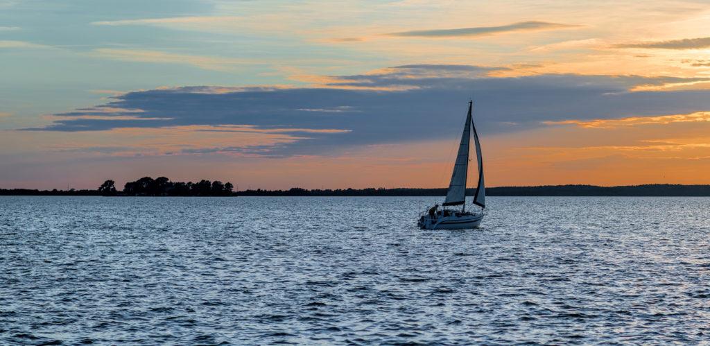 Segeln im Segelclub auf dem Steinhuder Meer